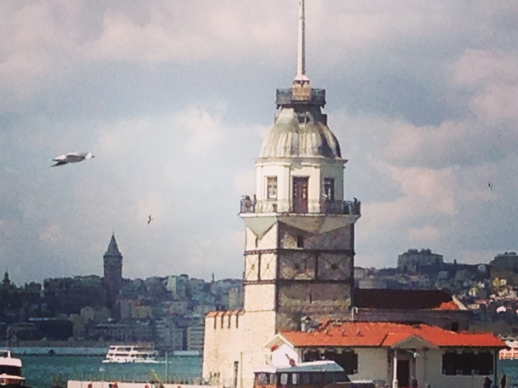 Maiden' s Tower in Istanbul