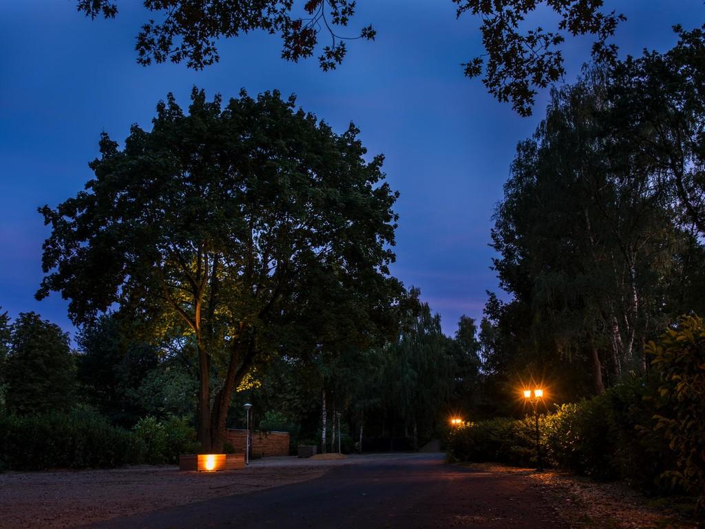 Nachtelijke romantiek in de buurt van het Disgner Outlet Roermond