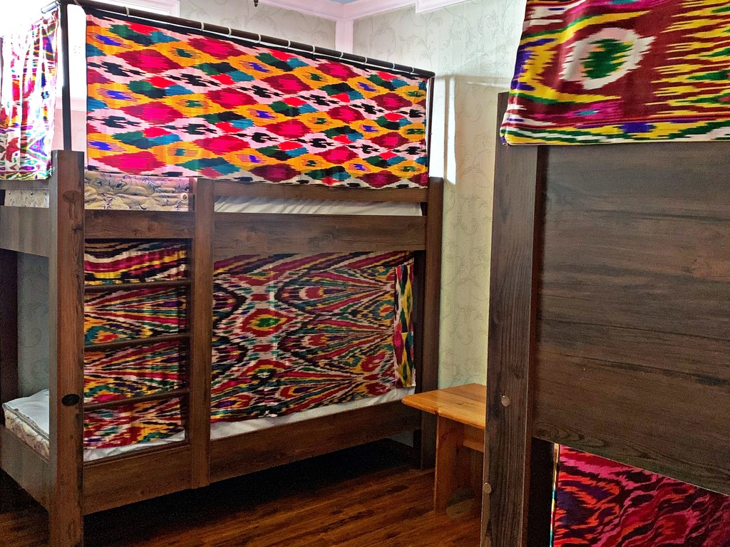 A Bed in All-Female Dormitory Bedroom
