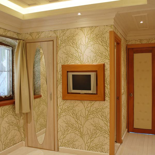 Klasik Çift Kişilik İki Yataklı Oda-Rustik