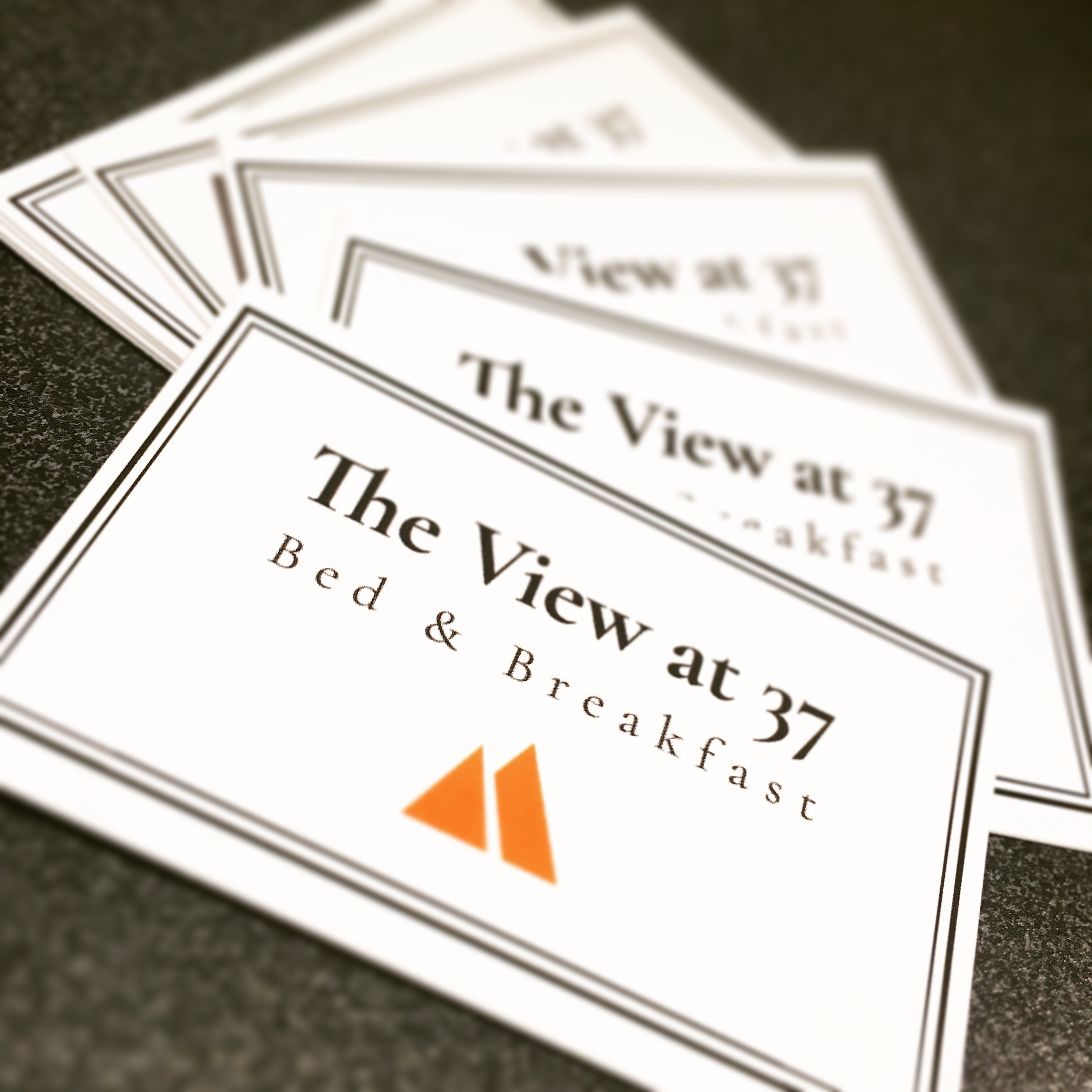 The View at 37 - Business Cards
